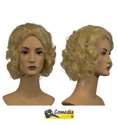 Theaterpruik Marilyn blond kanekalon