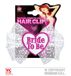 "HAARCLIP ""BRIDE TO BE"""