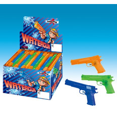 Waterpistool 20 cm assortie in display