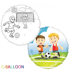 "C-Balloon kit ""Voetbal"""