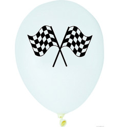 Racing Stripes latex ballonnen