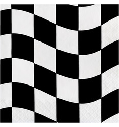 Racing Stripes Servetten