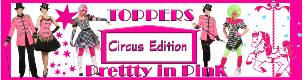 Pretty in Pink - Circus Edition -Toppers 2018